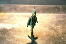 COMPOSITION ELASTOLIN WWII World WarII German Soldier Marching With Rifle FrontA