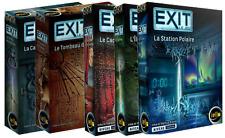 Pack Promo : 5 scénarios de Exit le jeu