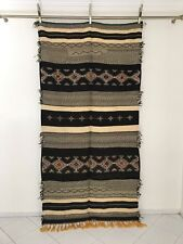 Exquisite Moroccan Rug Carpet Berber Picasso - Black White Yellow - 8' x 4'