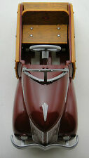 Pedal Car Woody Ford T 1940 Woodie Vintage Midget Metal >>>READ FULL DESCRIPTION
