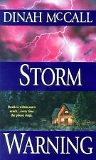Storm Warning by Dinah McCall (2001, Paperback)