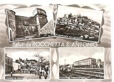 Saluti da ROCCHETTA S. ANTONIO.............4 vedute.
