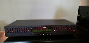 Audio Source EQ100 Graphic Equalizer - Black - Nice Condition and Working