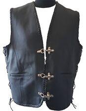 Gilet en cuir ARROW CRUISER couleur: Noir Taille : 4XL