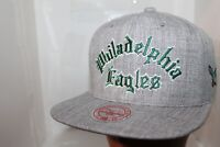 Philadelphia Eagles NFL Mitchell & Ness Team Arch Name Snapback,Hat,Cap $ 36 NEW
