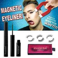 Magnetic Liquid / Gel Eyeliner / 3D Nerzhaar Magnetic Falsche Wimpern Makeu O7L9