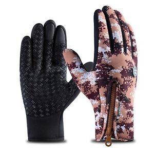 Winter Thermal Gloves Waterproof Touchscreen Gloves Warmer Full Finger Gloves US