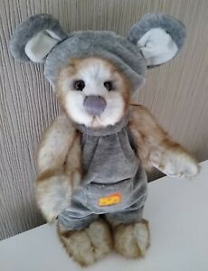 Charlie Bears adorable bear dressed as a mouse! NEW!