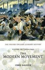 The Oxford English Literary History: Volume 10: The Modern Movement-ExLibrary