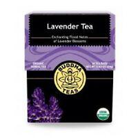 Organic Lavender Tea 18 Bags by Buddha Teas