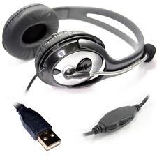 Usb Dynamode estéreo de auriculares con micrófono-Pc Usb