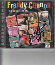 FREDDY CANNON HAND SIGNED THE EP COLLECTION CD