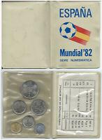 Espagne Coupe Du Monde '82 - 6 Pièce de monnaie FDC - 1980