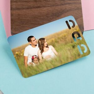 Personalised Photo Wallet Card Fathers Day Gifts for Dad Grandad Daddy Print