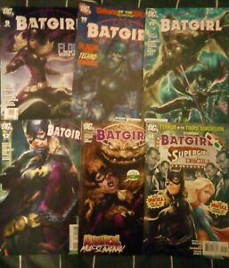 Batgirl (Stephanie Brown) (2011) #9-14 Bundle - DC - ARTGERM/Stanley Lau Covers