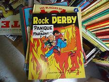 ROCK DERBY  PANIQUE AU PARADIS  BD GREG