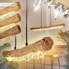 LED Pendel Leuchten Hänge Lampen Holz Ess Wohn Schlaf Zimmer Beleuchtung dimmbar