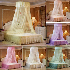Elegant Lace Bed Mosquito Netting Mesh Canopy Princess Round Dome Bedding Net & Childrenu0027s Bed Canopies and Netting   eBay