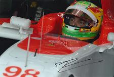 Roberto Merhi Hand Signed 12x8 Photo 2015 Manor Marussia Ferrari 2.