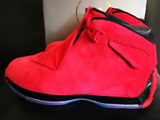 AIR JORDAN XVIII (18) Retro N E U !!! Größe 43 Gym Red / Black ausverkauft !!!