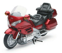 Honda Goldwing 2010 Gl 1800 Rojo Moto Modelo 1:12 de New Ray