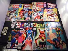 Iron Man Lot #184 185 186 200 201 202 203 and 204