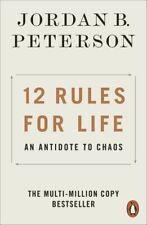 Penguin psychology: 12 rules for life: an antidote to chaos by Jordan B