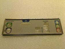 HP Compaq SR5710 ECS MCP61PM-HM I/O i/o Shield Backplate Blende for Motherboard