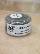 40 micron Diamantpaste 20g Polierpaste Glas Metall Schmuck Polieren Hochglanz