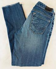 Express Women's Jeans Size 2 Regular MIA Ultra Skinny Stretch Distressed