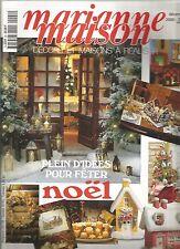 MARIANNE MAISON N°22 NOEL / LE TWISTART / SAPINS ET COURONNES / REPAS DE NOEL