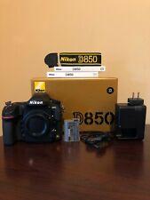 Used Nikon D850 45.7MP Digital SLR Camera Body #252