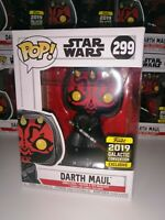 Star Wars Darth Maul Galactic 2019 Exclusive Funko POP!