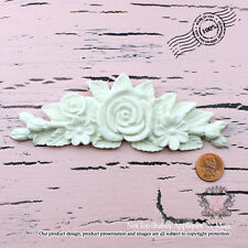 """Shabby Chic Furniture Appliques """"Not Too Shabby Floral Cluster"""""""
