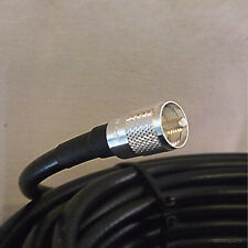 LMR400 Times Microwave Coax Cable UHF Jumper PL-259 SO-239 Antenna Line 21 ft