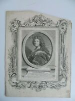 Retrato Siglo XVIII Joseph Parrocel Pintura Friedrich Jacinto Odieuvre Babel