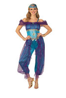 Regal Peacock Adult Womens Romper Headpiece Gloves Costume NEW