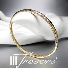 """ARMREIF 585 G.GOLD """"MADE IN ITALY"""" ARMBAND BRACELET BANGLE"""