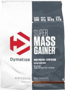 Dymatize Super Mass Gainer - Rich Chocolate - 12 Lbs