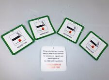 5 x Fire Safety Labels for Furniture / Upholstery / Chairs DL7