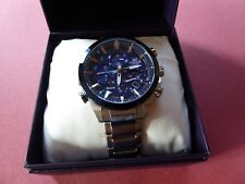 Casio Edifice Analogue Bluetooth Watch Tough Solar Blue EQB-501DB-2AER.