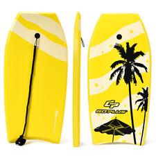 """Body Board 41"""" Lightweight Surfing Board W/Leash Ixpe Deck Eps Core Ocean Sport"""