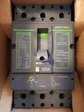 Noark M1s100t3l Circuit Breaker 3p 100a New In Box Ul489csa 480v 600y347