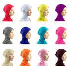 NEW Under Scarf Hat Cap Neck Cover Head Wear Bone Bonnet Hijab Islamic Band M52