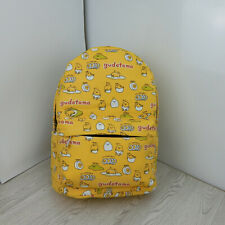 Gudetama Backpack Boys Canvas Student School bag Girl Cartoon Shoulders Bag Gift