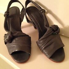 Beautiful Pair Of  Grey Rachel Comey Sling Back Sandals