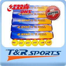 30x DHS 2 Star 40mm Table Tennis / Ping Pong WHITE Balls