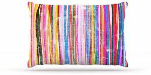 "Kess InHouse Frederic Levy-Hadida Fancy Stripes Fleece Dog Bed 30 x 40"""