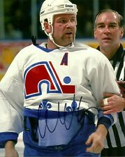 WENDEL CLARK SIGNED QUEBEC NORDIQUES 8x10 PHOTO! Autograph