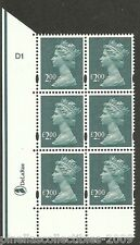 New listing Gb Mh322a, block of 6